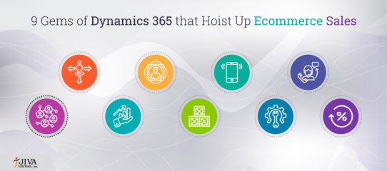 9 Gems of Dynamics 365 that hoist up Ecommerce sales