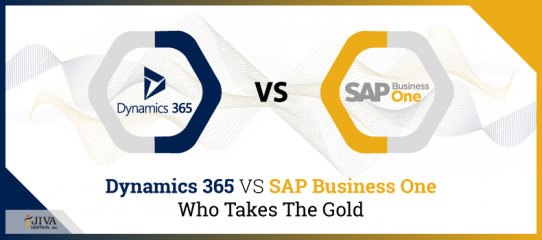 Dynamics 365 VS SAP Business One: Who takes the gold?
