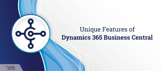 Unique features of Dynamics 365 Business Central